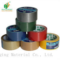 Shenzhen Bull duct tape cloth colorful tape for sealing carton