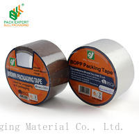 Shenzhen bull material hot sale adhesive bopp tape 48mm*45mic  transparent